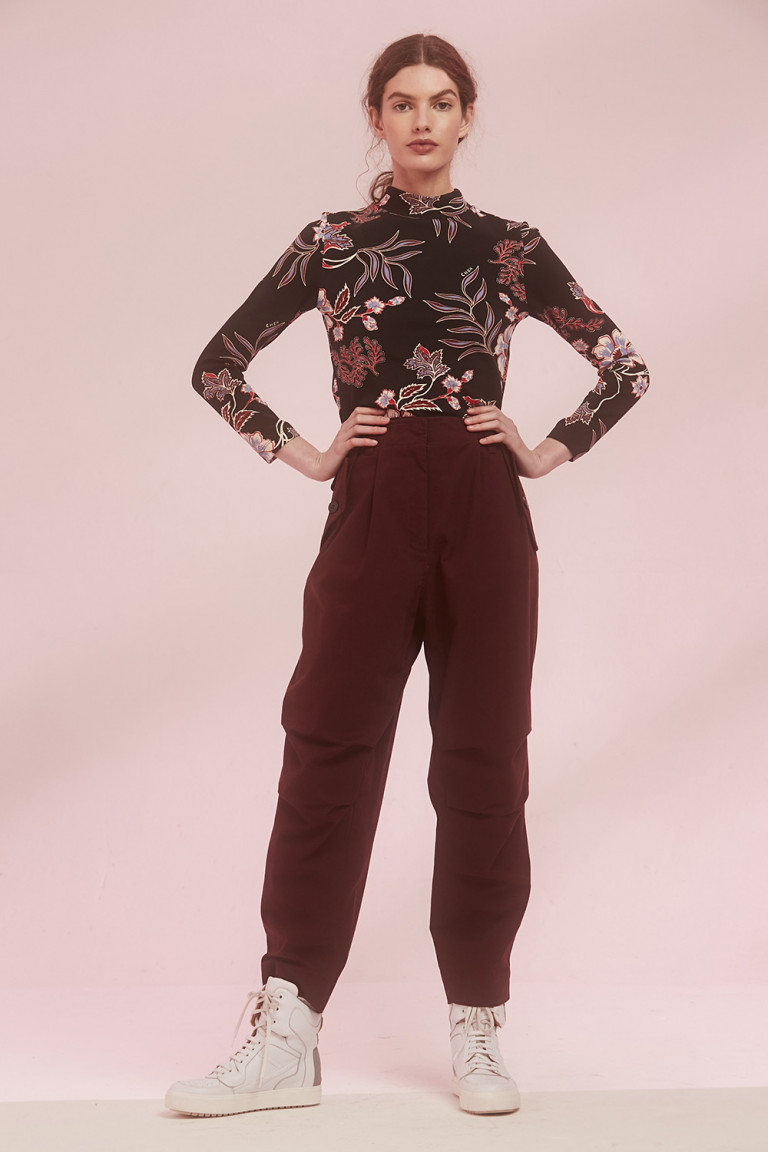 PANTALON MCGARRY BORDEAUX
