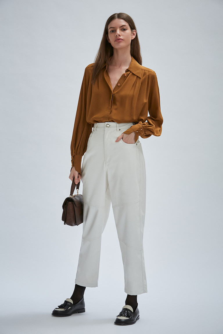 PANTALON SERWA OFF WHITE