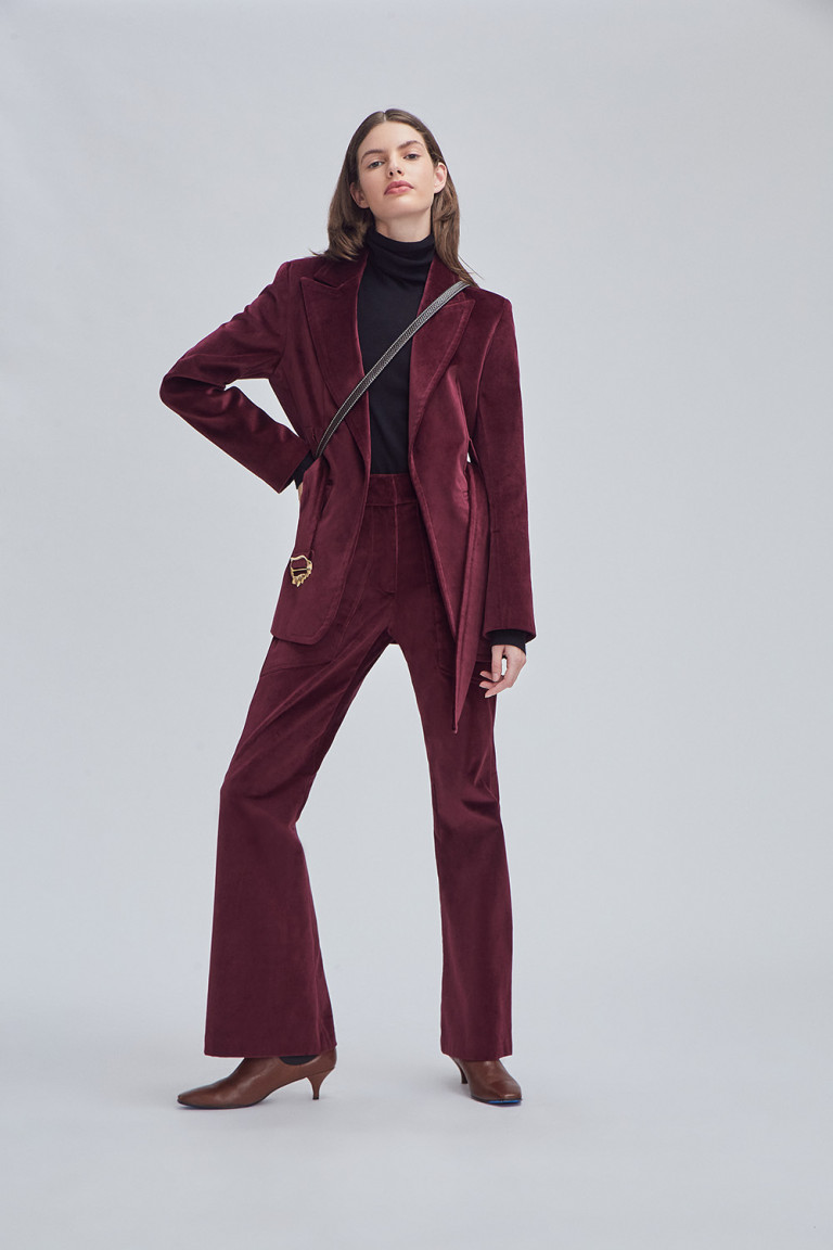 SACO ALICE BORDEAUX