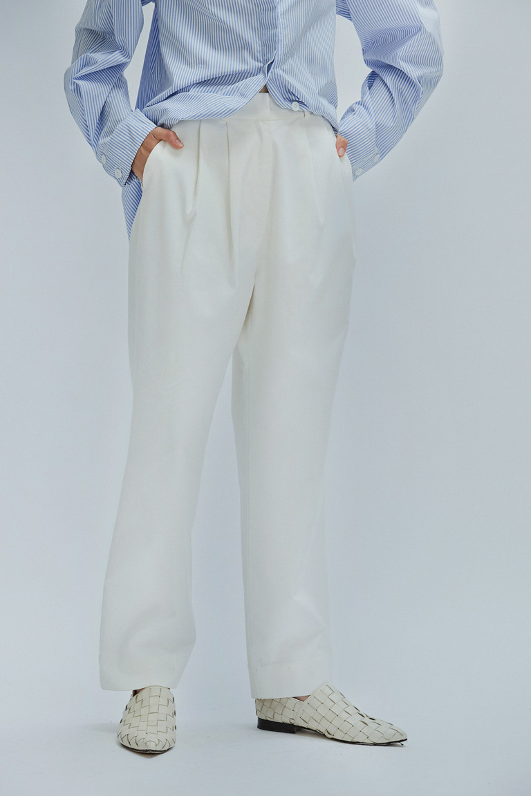 PANTALON AKIN  OFF WHITE