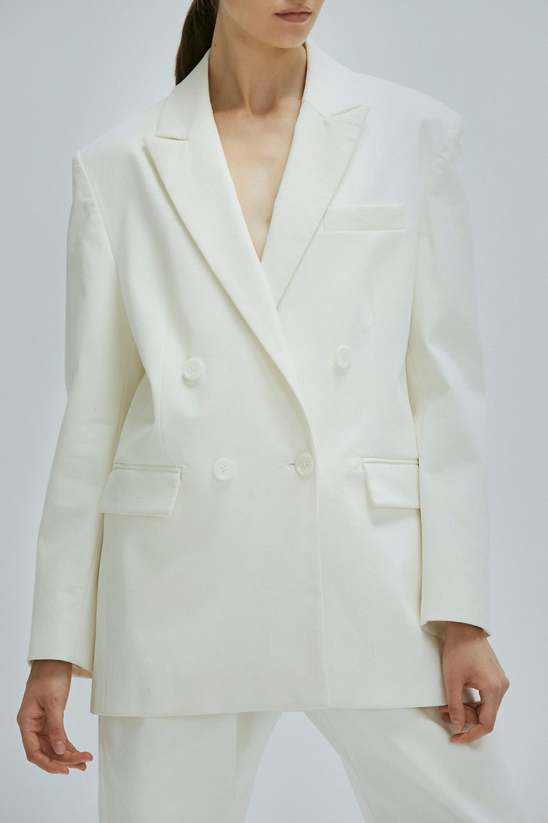 SACO AKIN  OFF WHITE