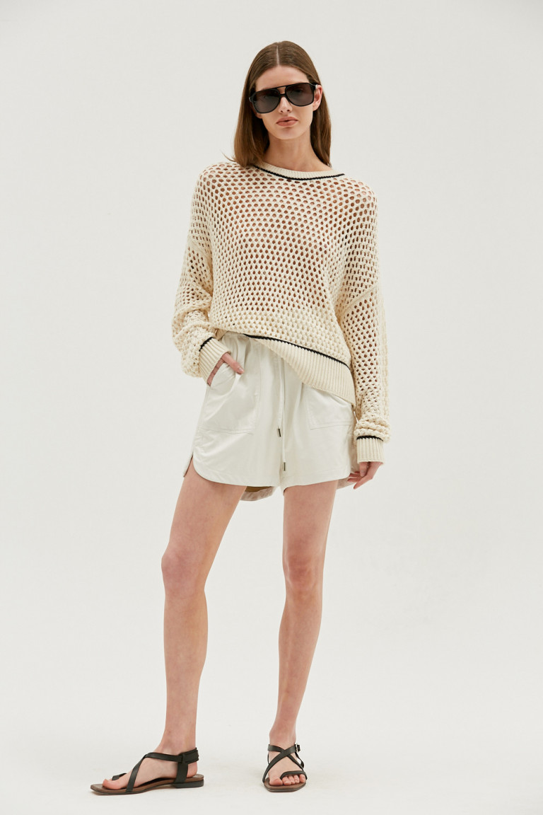 SHORT GAMBIER OFF WHITE