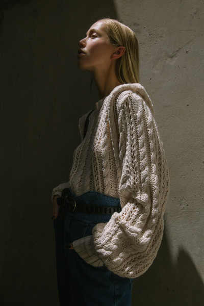 SWEATER ANCHO BIA CRUDO